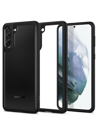 Spigen Galaxy S21 Plus Kılıf, Ultra Hybrid Siyah